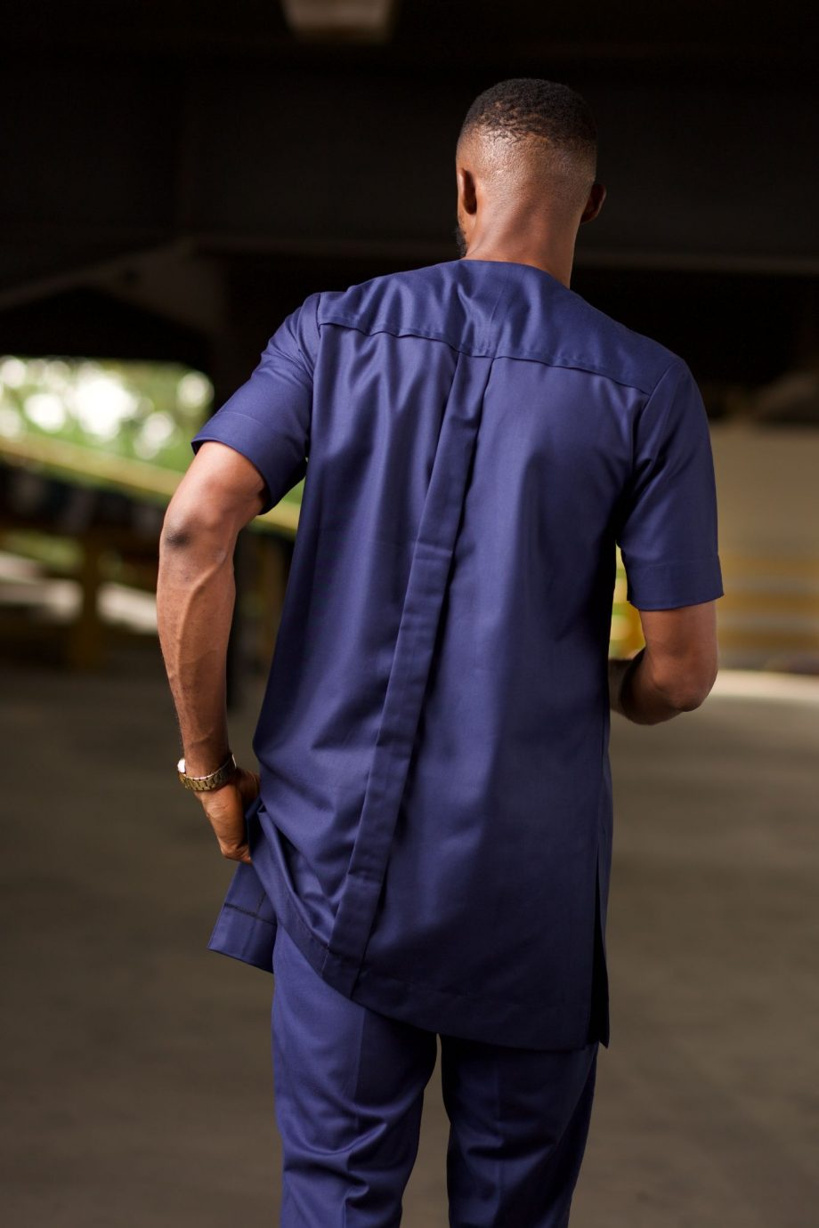 African Clothing for Men - NAADE Shirt by Naborhi
