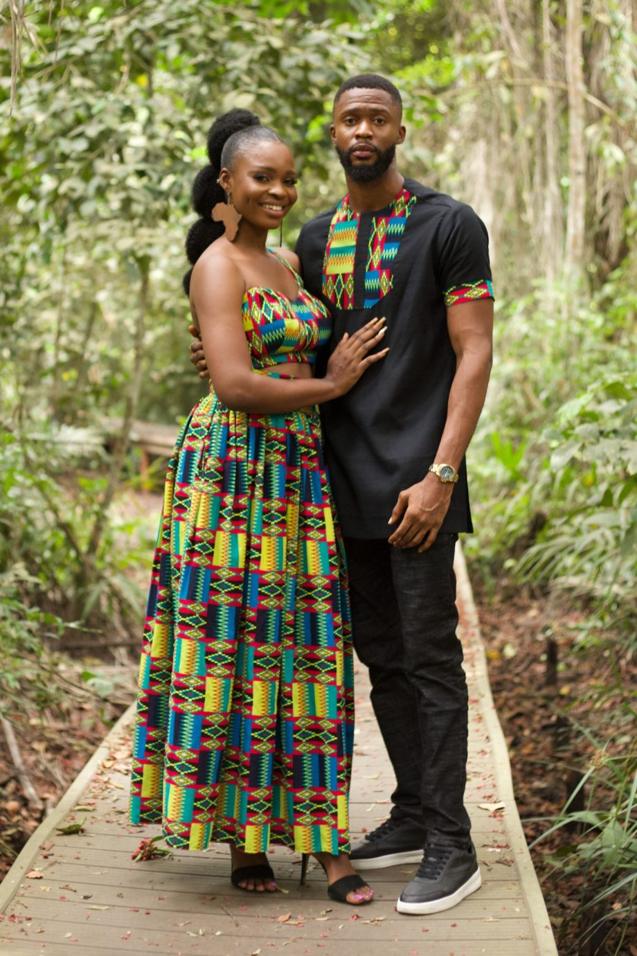 African Couples Matching Set Azizi by Naborhi