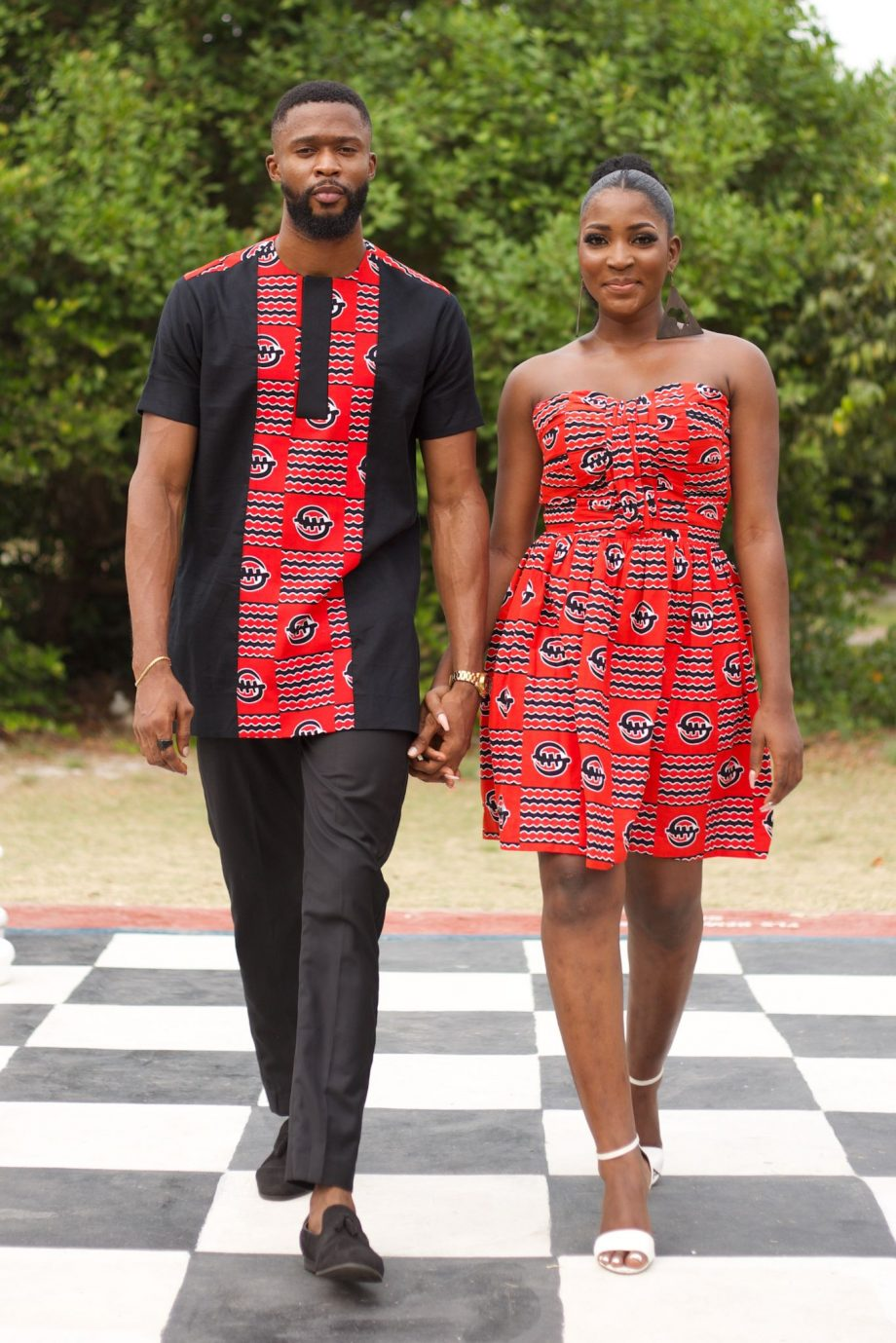 African Couples Outfits - JELA by Naborhi