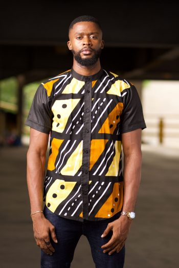 African Print Ankara Short Sleeve Shirt - TAIWO by Naborhi