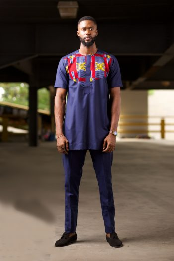African Print Ankara Trouser Suit for Men - NAADE by Naborhi