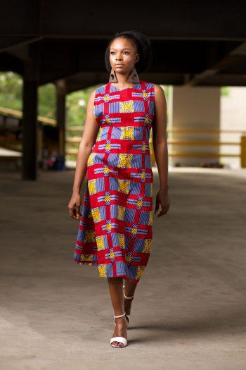 African Print Ankara Tunic - NAADE by Naborhi