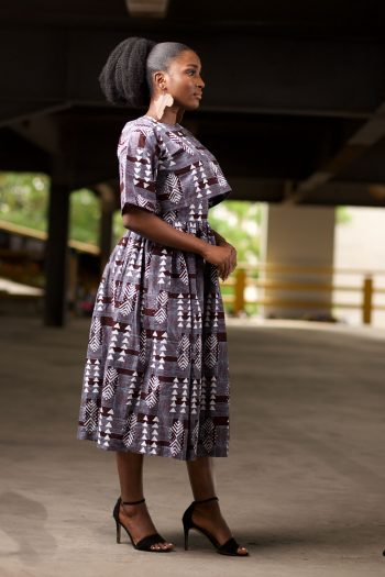 African Print Matching Top And Skirt Set - Berhane by Naborhi