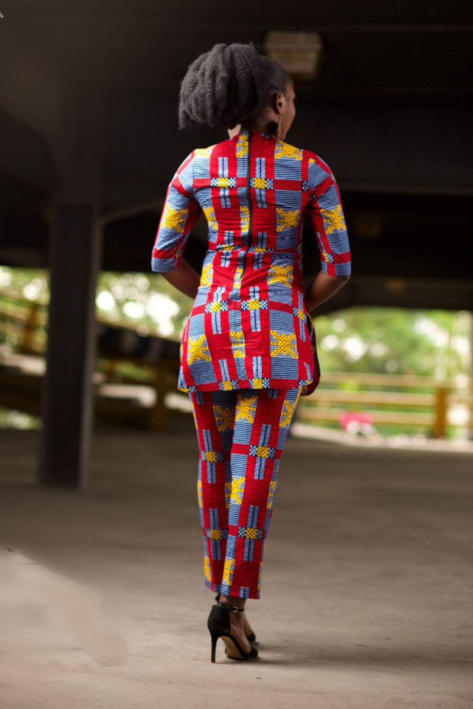 African Tunic and Matching Trousers - NAADE by NAborhi