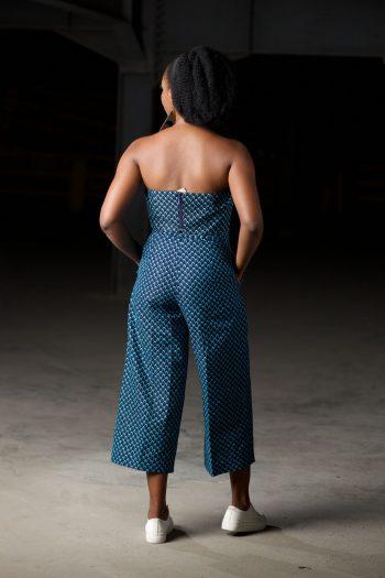 Ankara Corset Top and Matching Culottes - MOSI by Naborhi
