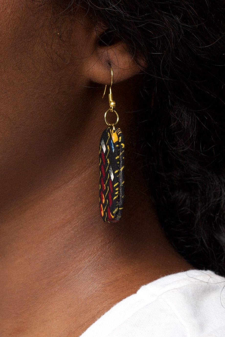 DELE Ankara Earrings by Naborhi