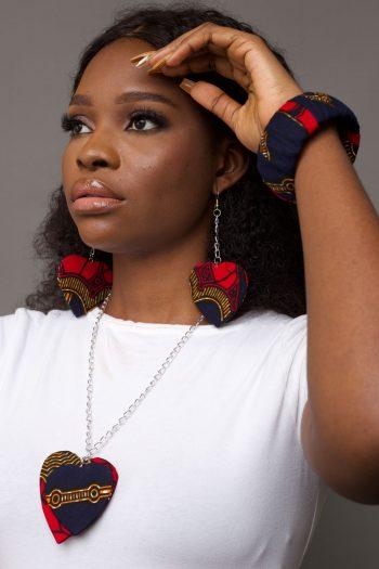 DEMI African Print Ankara Jewellery Set by Naborhi