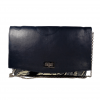 LOLA African Print Ankara Leather Blue Bag by Naborhi
