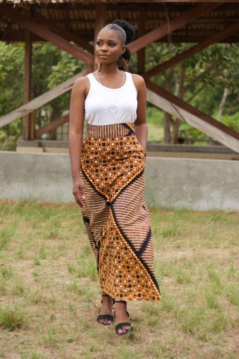 Long African Skirt - TABIA by Naborhi