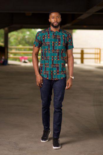 TELAZA African Print Ankara Shirt for Men by Naborhi