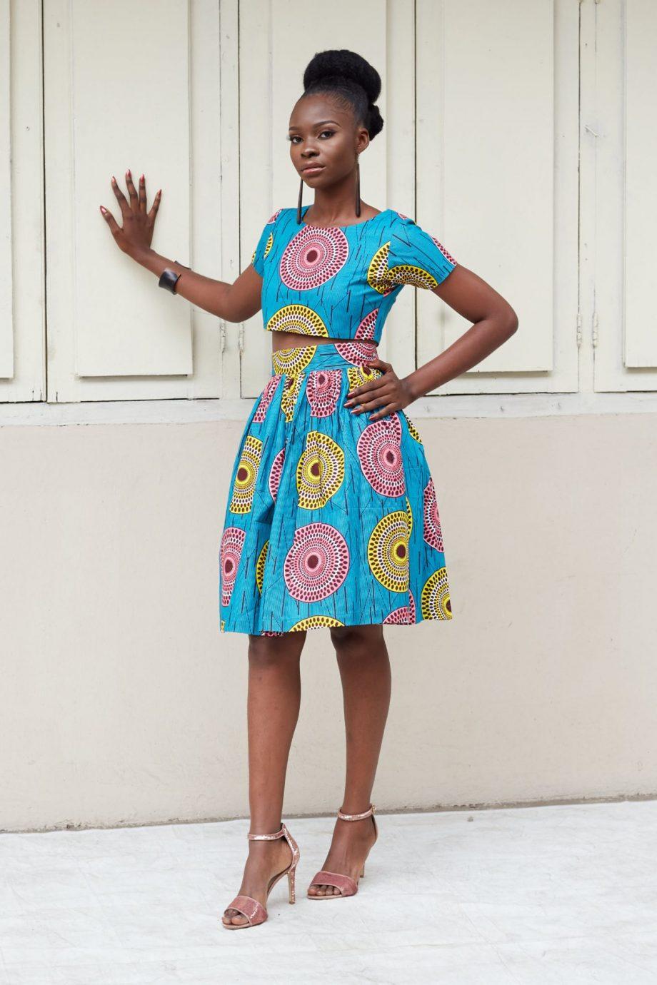 Zola Ankara Skirt Suit