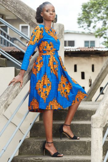 Tinashe African Print Crop Top And Midi Skirt