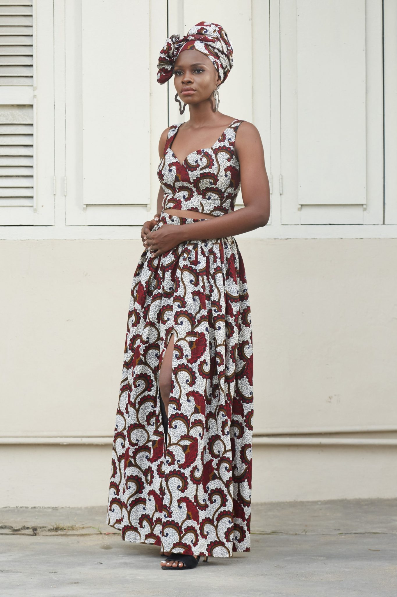 African Print Tops for Ladies