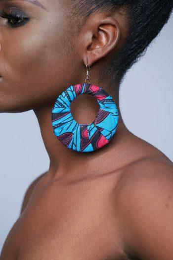 Hediye African Hoop Earrings