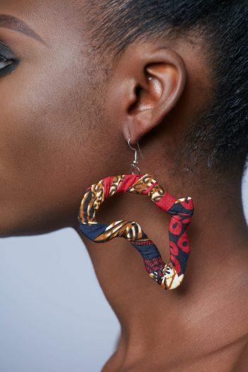 African Earrings African Earrings - Zuwena Ankara Earrings