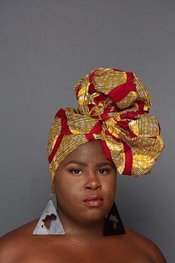African Woman Headwrap Tishala