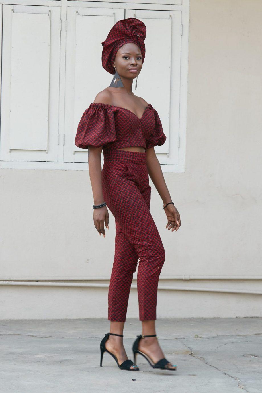 Ankara Pants Outfit - Keyshia African Print Trousers