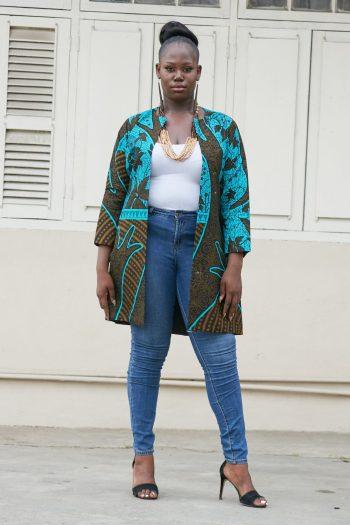 Furaha African Kimono