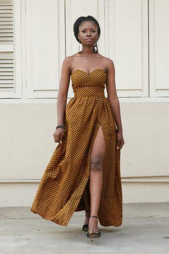 High Waist African Print Skirts - Aiysha Maxi Skirt
