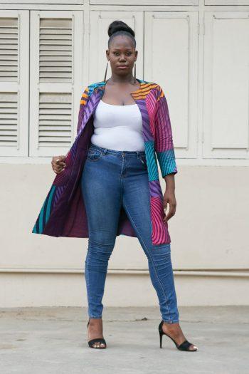 Xenia Kimono African Print
