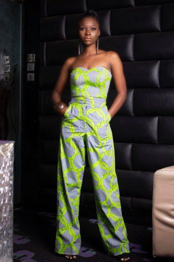 Akachi African Print Wide Leg Pants
