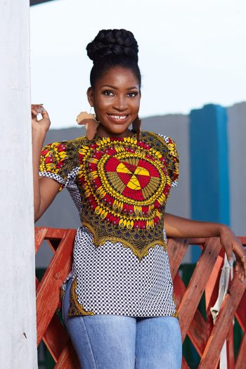 African Top Olusola - African Clothing for Women - Naborhi