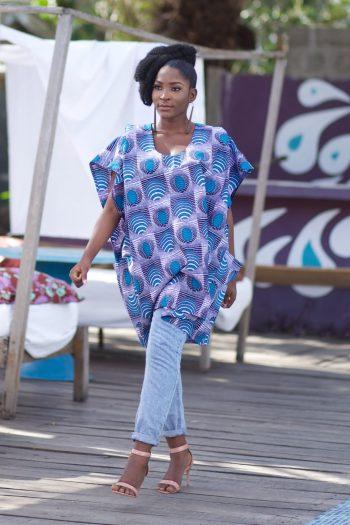 Agbada for Women - African Tunic Top Ayotola by Naborhi
