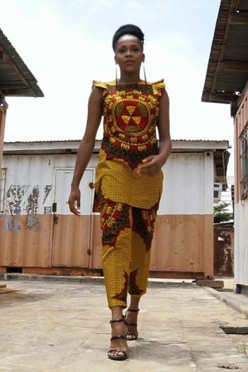 Dolor African Print Top and Trousers Naborhi