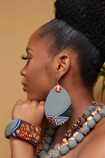 African Anakara Earrings - Atare
