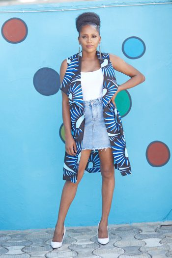 African Print Ankara Waistcoat - Kanika - African Print Blazers - Naborhi