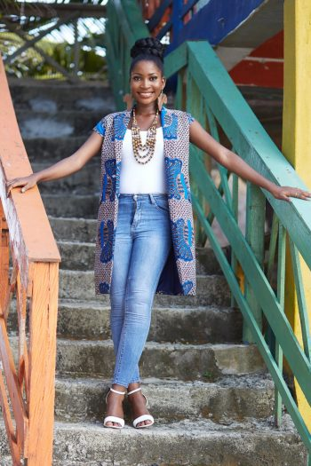 African Print Ankara Jacket - African Jackets for Women - Naborhi