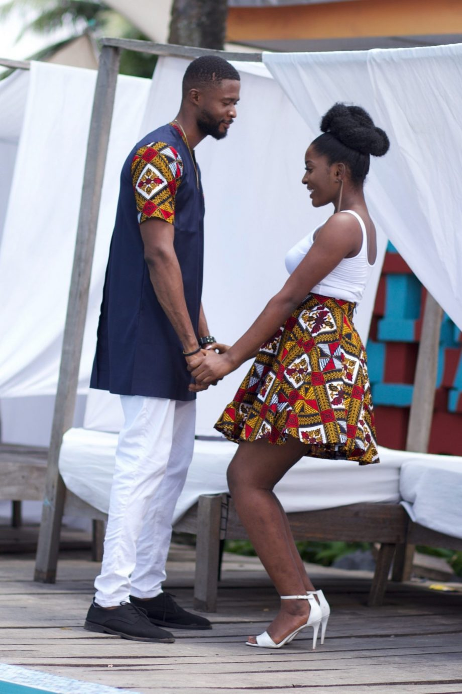 African Clothing for Couples - Dayo Ankara Set by Naborhi