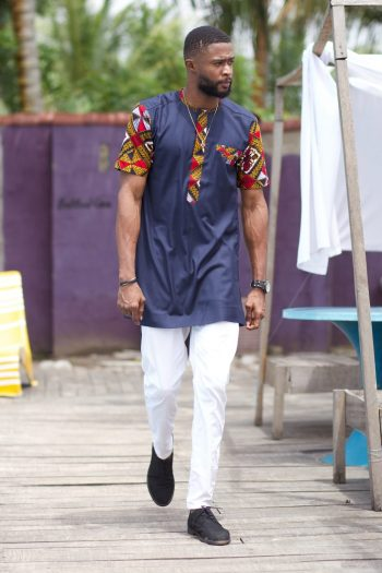 African Clothing for Men - Dayo African Ankara Shirt by Naborhi