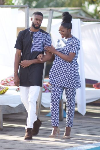 African Outfits for Couples
