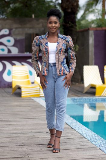 African Fashion for Women - African Jacket Kalifa by Naborhi