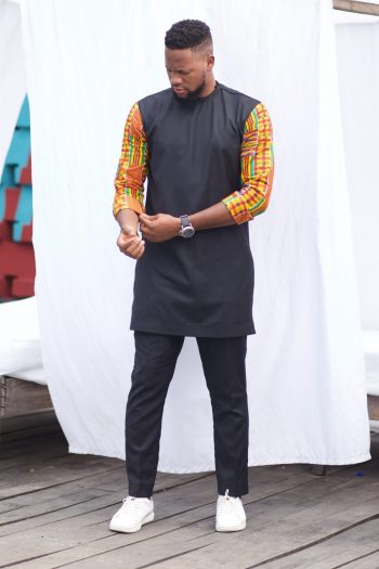 African Kente Suit for Men Abasi by Naborhi