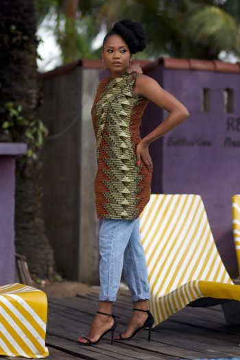 African Long Top Dele - African Fashion for Woman