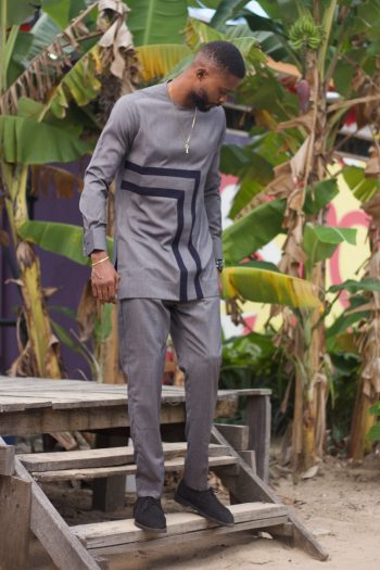 African Men Clothing - African Suit Dafe by Naborhi