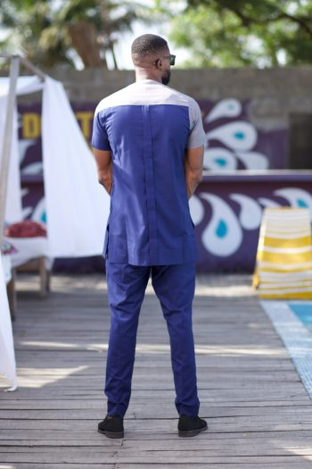 African Mens Slim Fit Suits - Ogho African Suit by Naborhi