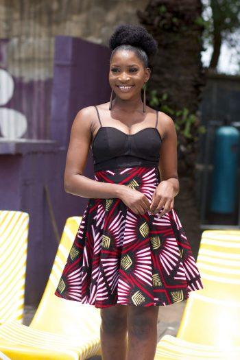 African Print Short Skirt Raziya by Naborhi