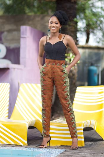 African Print Trousers Dele by Naborhi