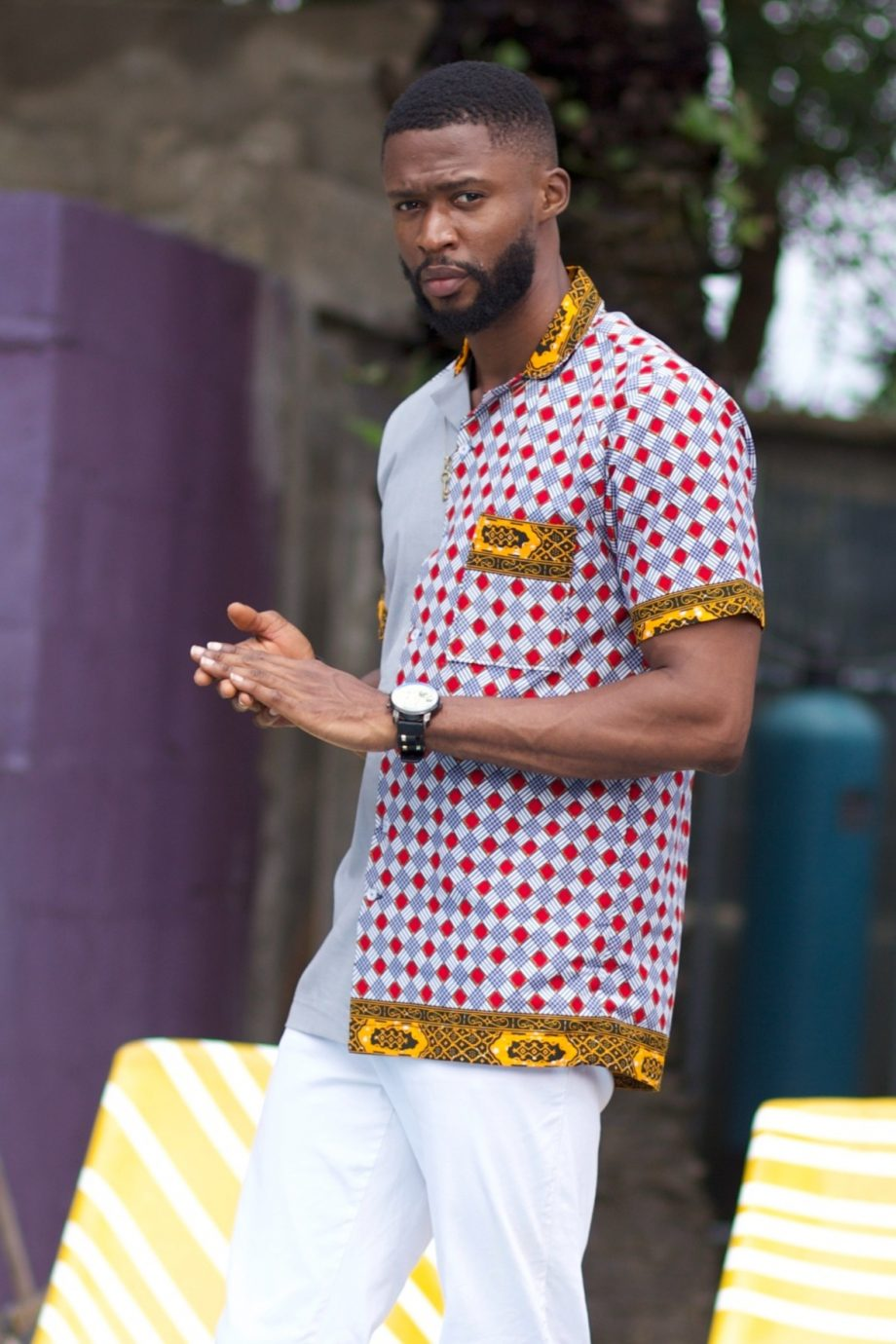 African Shirts for Men - Ayanda African Shirt by Naborhi