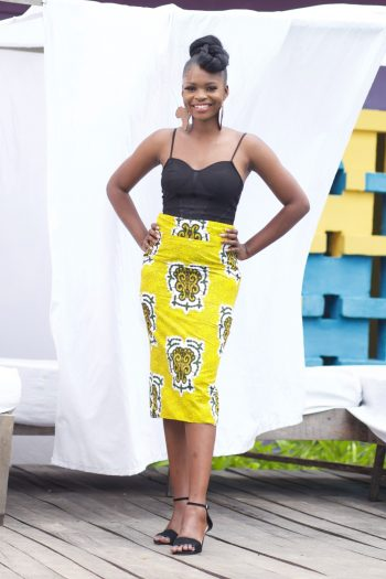 African Skirts - Aanu African Print Pencil Skirt by Naborhi