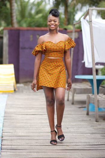 African Top and Skirt - Ayanda - African Clothing for Women by Naborhi