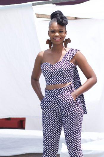 Ankara Styles for Women - African Print Drape Top Ife by Naborhi