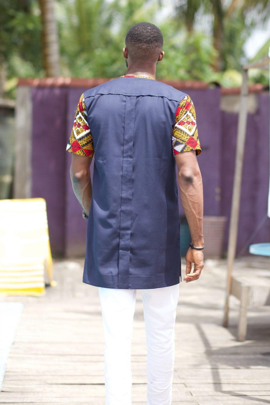 Dayo Ankara Mans Shirt