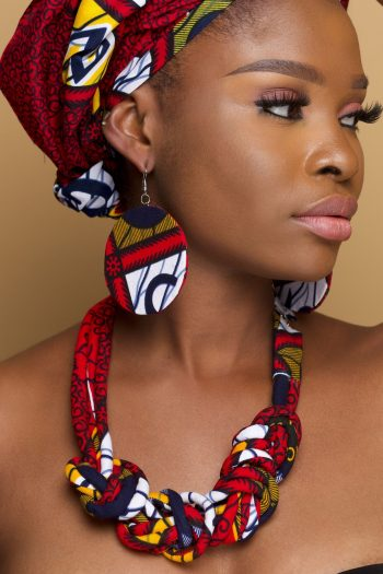 African Fabric Jewellery Set_Kasarachi_Naborhi