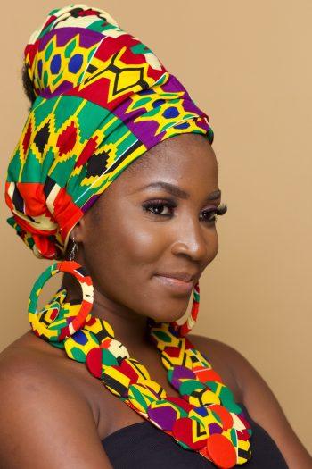 Ovieya African Print Kente Head Wrap_Ovieya_Naborhi