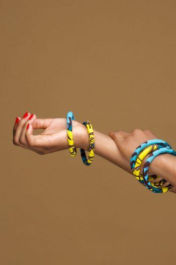 Sekai Ankara Bangles - African Fashion Accessories by Naborhi