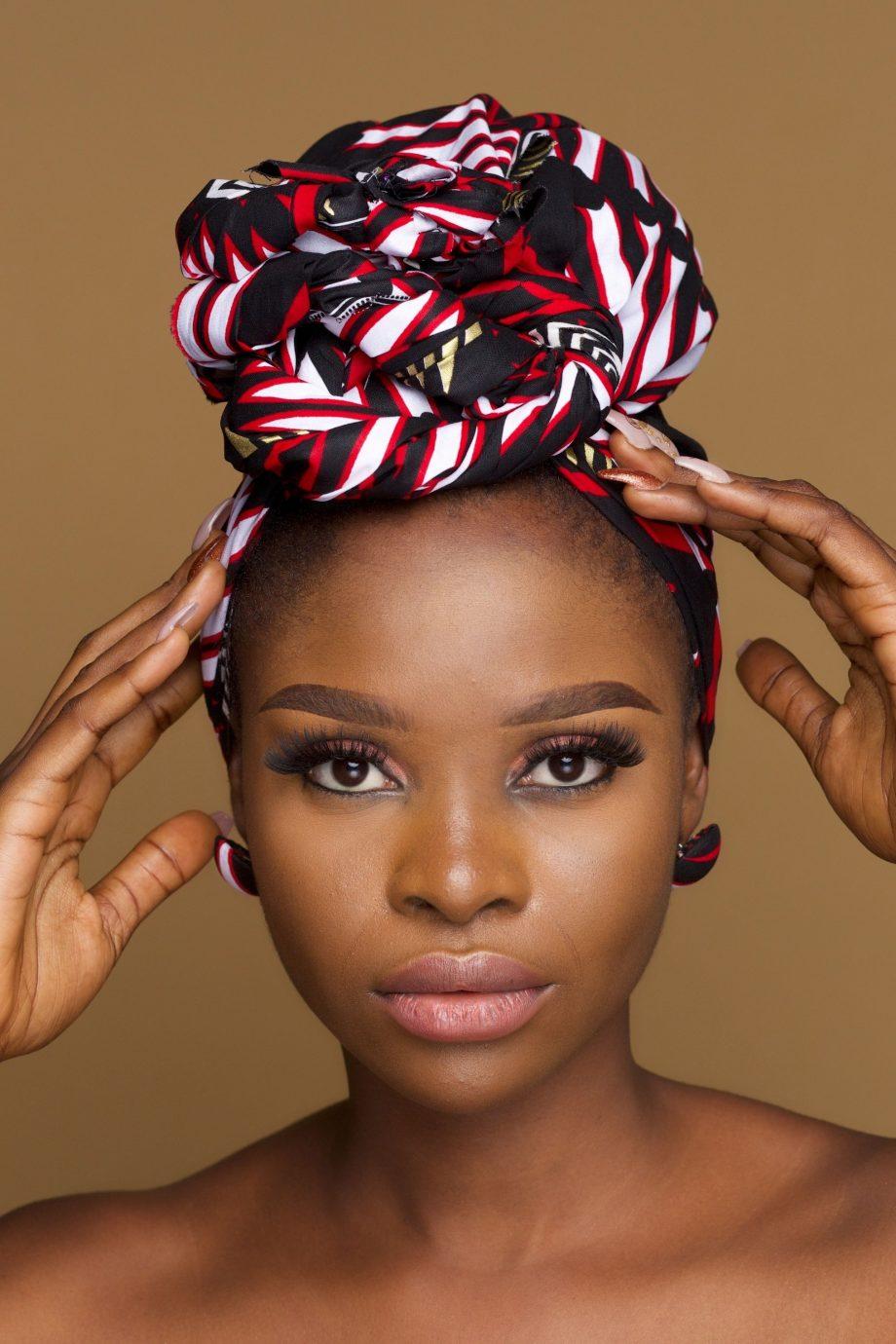 Sonari African Print Ankara Head Wrap By Naborhi